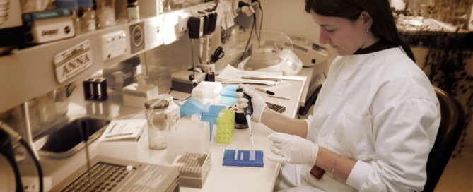 19. PREPARING DNA FRAGMENTS AT CSIRO MOLECULAR AND HEALTH TECHNOLOGIES